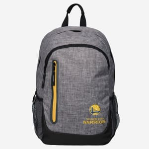 Golden State Warriors Heather Grey Bold Color Backpack