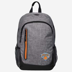 New York Knicks Heather Grey Bold Color Backpack