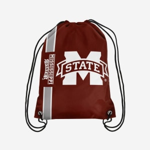 Mississippi State Bulldogs Big Logo Drawstring Backpack