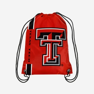 Texas Tech Red Raiders Big Logo Drawstring Backpack