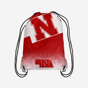 Nebraska Cornhuskers Gradient Drawstring Backpack