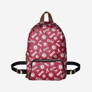 Alabama Crimson Tide Printed Collection Mini Backpack