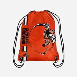 Cleveland Browns Big Logo Drawstring Backpack