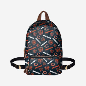 Chicago Bears Printed Collection Mini Backpack