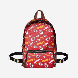 Kansas City Chiefs Printed Collection Mini Backpack