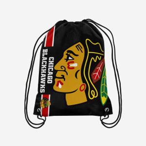 Chicago Blackhawks Big Logo Drawstring Backpack