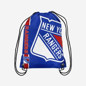 New York Rangers Big Logo Drawstring Backpack