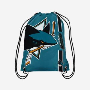 San Jose Sharks Big Logo Drawstring Backpack