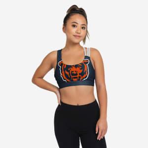 Chicago Bears Womens Free Fan Sports Bra - M