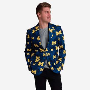 Michigan Wolverines Digital Camo Suit Jacket - 44