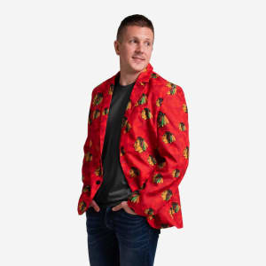 Chicago Blackhawks Digital Camo Suit Jacket - 42