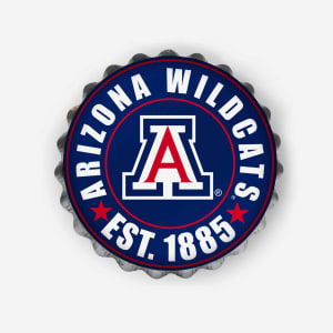 Arizona Wildcats Bottle Cap Wall Sign