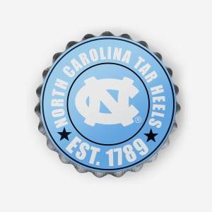 North Carolina Tar Heels Bottle Cap Wall Sign