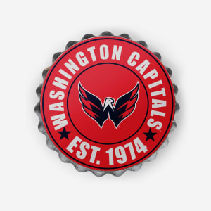 Washington Capitals Bottle Cap Wall Sign
