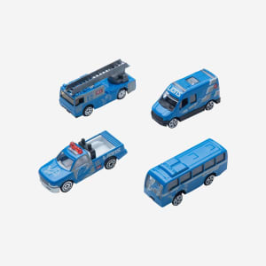 Detroit Lions Die Cast Cars 4 Pack
