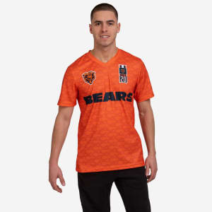 Chicago Bears Short Sleeve Soccer Style Jersey - 2XL