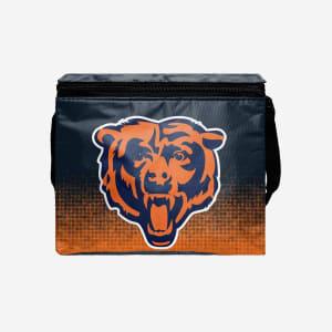 Chicago Bears Big Logo Gradient 6 Pack Cooler