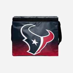 Houston Texans Big Logo Gradient 6 Pack Cooler