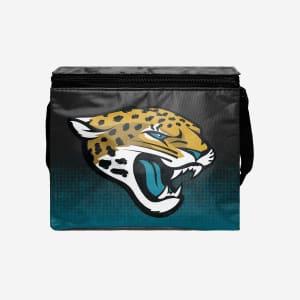 Jacksonville Jaguars Big Logo Gradient 6 Pack Cooler