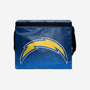 Los Angeles Chargers Big Logo Gradient 6 Pack Cooler