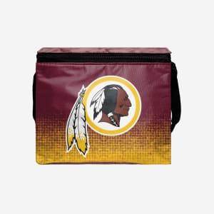 Washington Redskins Big Logo Gradient 6 Pack Cooler