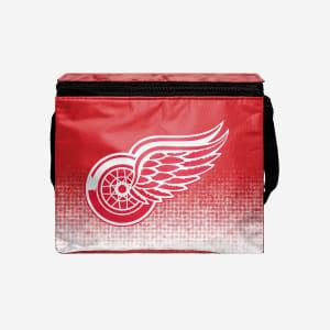 Detroit Red Wings Big Logo Gradient 6 Pack Cooler