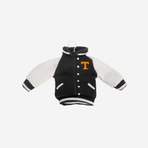 Tennessee Volunteers Fabric Varsity Jacket Ornament