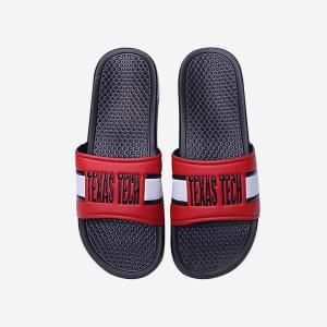 Texas Tech Red Raiders Raised Wordmark Slide - M