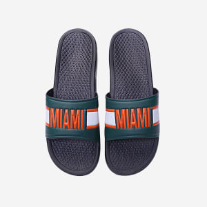 Miami Hurricanes Raised Wordmark Slide - S