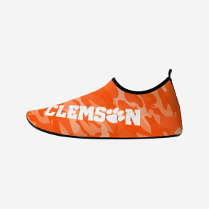 Clemson Tigers Mens Camo Water Shoe - L