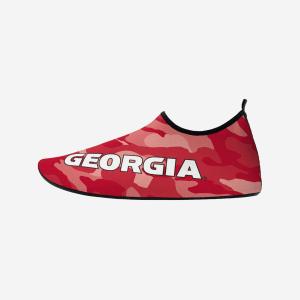 Georgia Bulldogs Mens Camo Water Shoe - L
