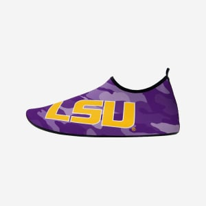 LSU Tigers Mens Camo Water Shoe - M