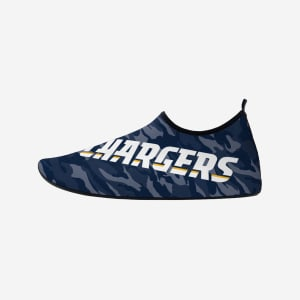 Los Angeles Chargers Camo Water Shoe - M