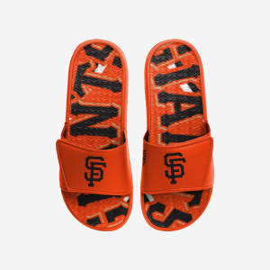 San Francisco Giants Bold Wordmark Gel Slide - L