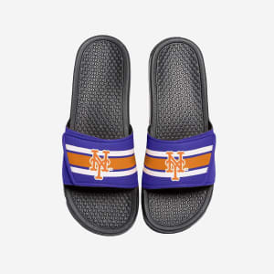 New York Mets Stripe Legacy Sport Slide - M