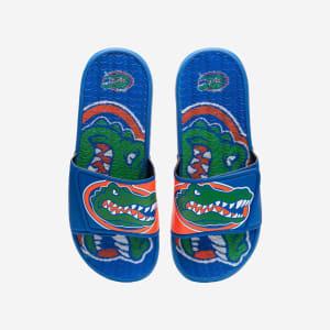 Florida Gators Colorblock Big Logo Gel Slide - L
