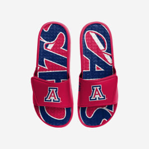 Arizona Wildcats Bold Wordmark Gel Slide