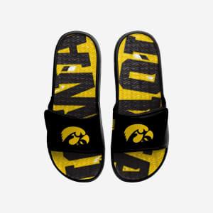 Iowa Hawkeyes Bold Wordmark Gel Slide - M