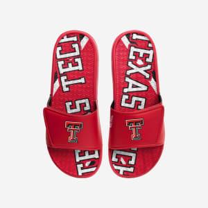 Texas Tech Red Raiders Bold Wordmark Gel Slide - L