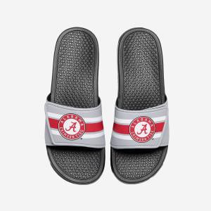 Alabama Crimson Tide Stripe Legacy Sport Slide