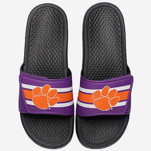 Clemson Tigers Stripe Legacy Sport Slide - XL