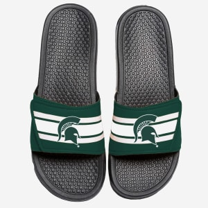 Michigan State Spartans Stripe Legacy Sport Slide - S