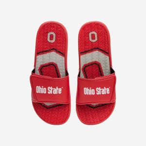 Ohio State Buckeyes Wordmark Gel Slide - XL