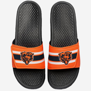 Chicago Bears Stripe Legacy Sport Slide - L