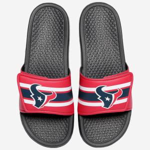 Houston Texans Stripe Legacy Sport Slide - M