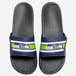 Seattle Seahawks Stripe Legacy Sport Slide - XL