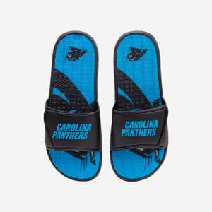 Carolina Panthers Wordmark Gel Slide - S