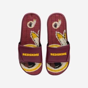 Washington Redskins Wordmark Gel Slide - L