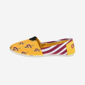 Cleveland Cavaliers Womens Stripe Canvas Shoe - S