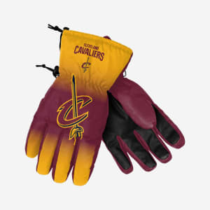 Cleveland Cavaliers Big Logo Insulated Gloves - L/XL